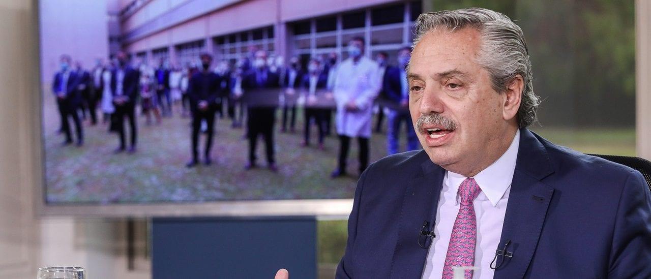 """Alberto Fernández: """"En la Ciudad no tienen más lugar [los enfermos de PAMI con COVID-19]"""""""
