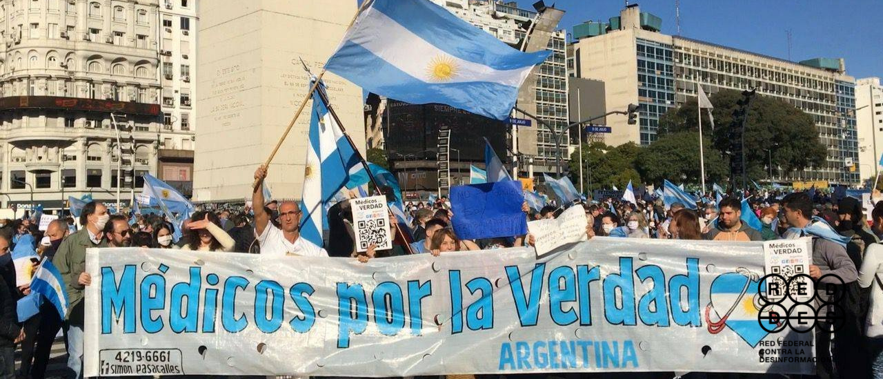"""¿Quiénes son los """"Médicos por la Verdad"""" y los """"Epidemiólogos Argentinos"""", grupos que difunden desinformaciones sobre el coronavirus?"""