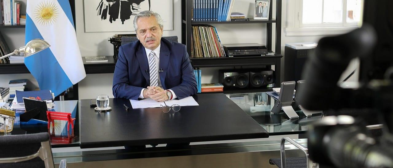 """Alberto Fernández: """"Cuando nosotros llegamos en diciembre nos encontramos un Banco Central lánguido, sin reservas, vacío"""" """