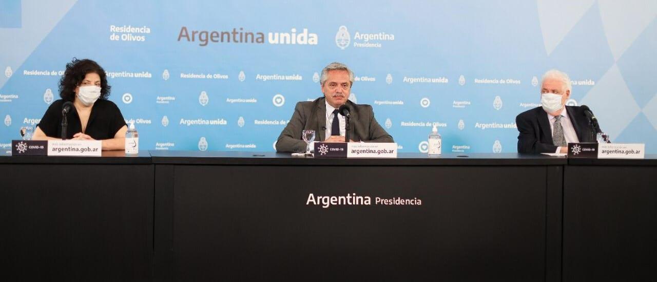 Vacunas contra el coronavirus: qué anunció Alberto Fernández sobre su posible llegada