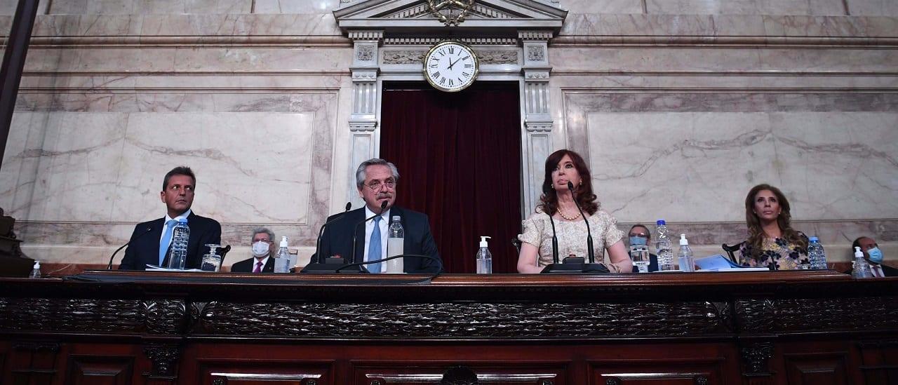 """Alberto Fernández: """"Preservamos el ingreso de jubilados y jubiladas aumentando sus haberes y otorgándoles bonos adicionales"""""""