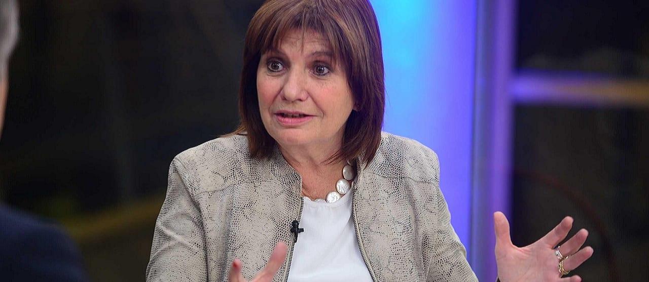 """Patricia Bullrich: """"La Argentina es el país que tiene más presos extranjeros de la región"""""""