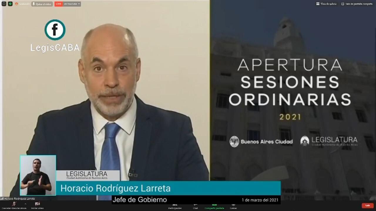 """Rodríguez Larreta: """"En 2020, se duplicó la cantidad de chicos de primaria que pasaron de grado sin tener todos los contenidos aprendidos"""""""
