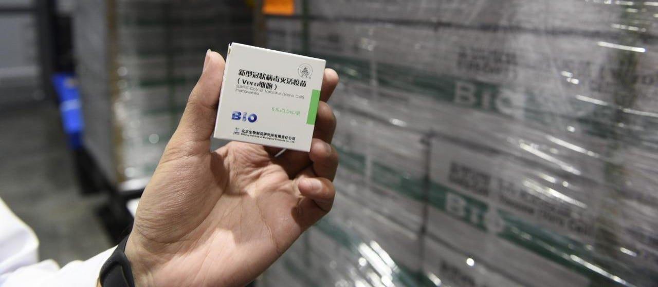 Llegaron más vacunas de Sinopharm y se aplicará la segunda dosis a quienes ya recibieron la primera
