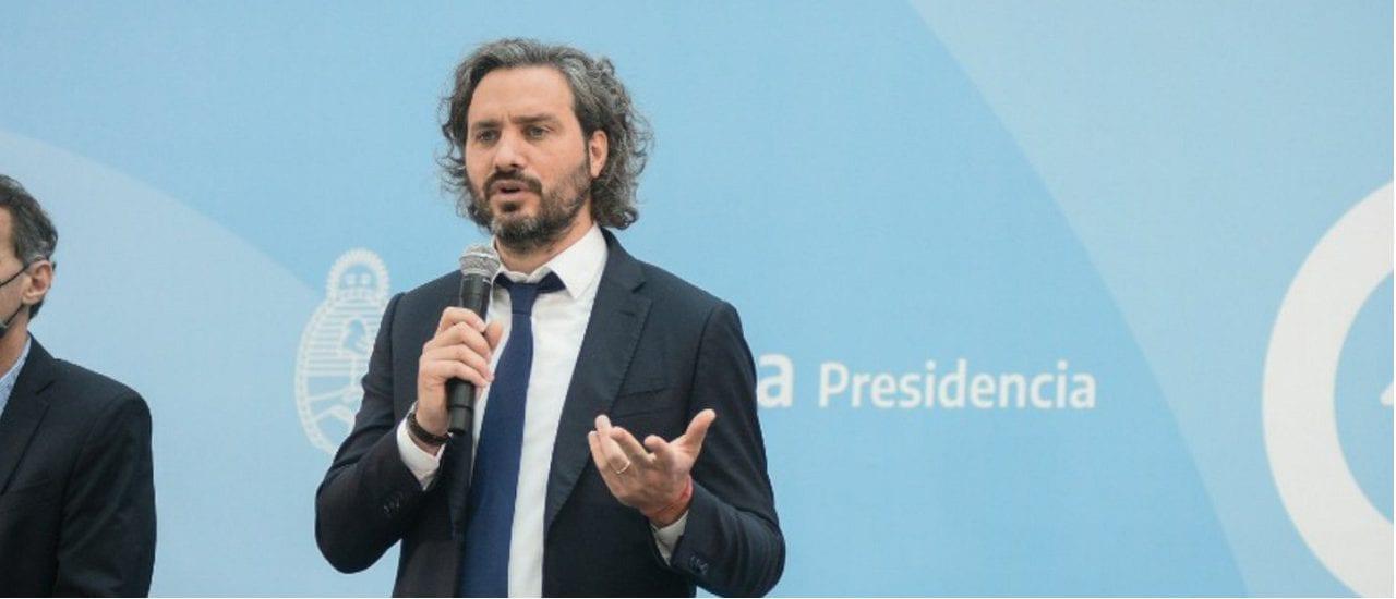 """Cafiero: """"La Argentina es uno de los 12 países en el mundo que produce vacunas"""""""