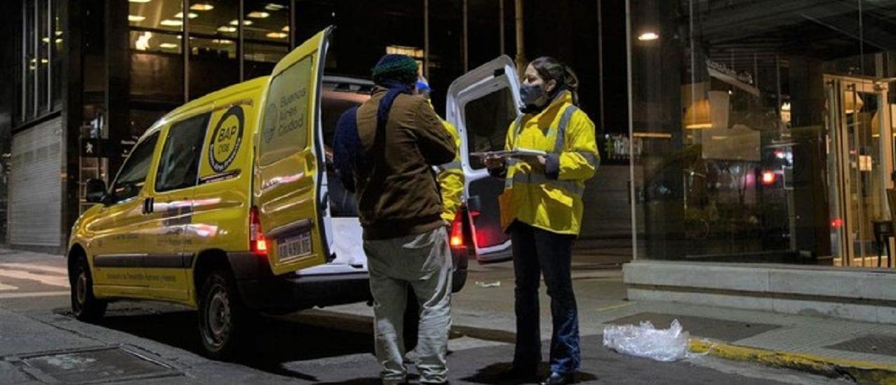 Un nuevo censo de la Ciudad arrojó que son al menos 2.500 personas las que viven en situación de calle