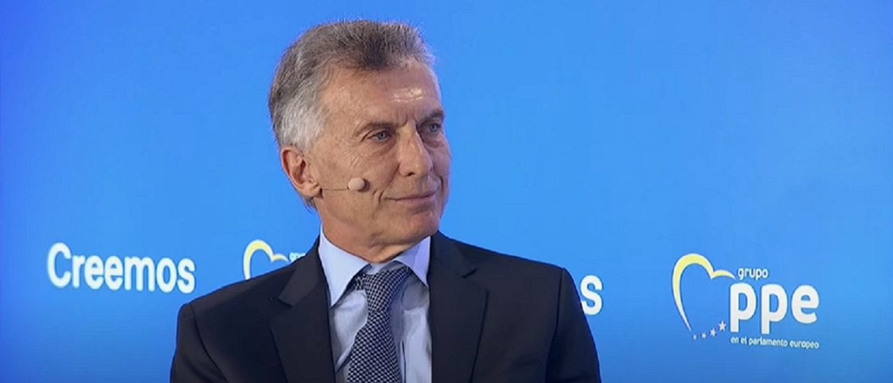 """Macri: """"El éxodo que lamentablemente ha habido en la Argentina en el último año y medio no se vio nunca en nuestra historia"""""""