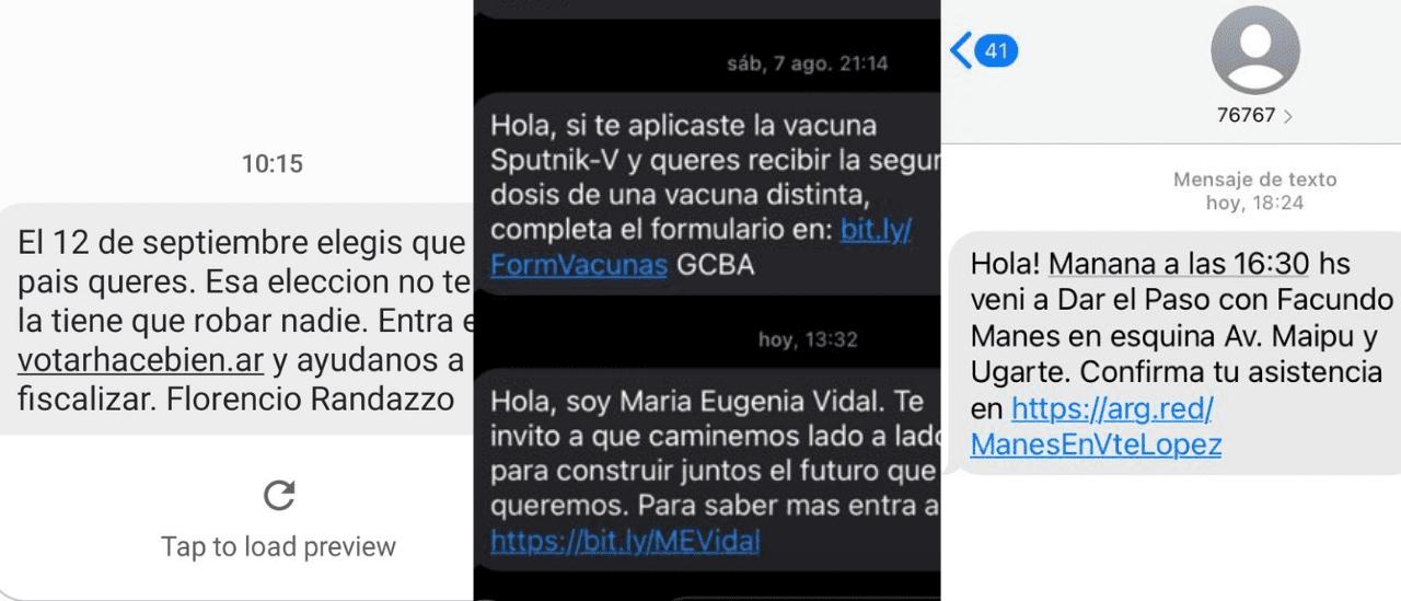 Publicidad electoral por SMS: por qué nos llegan mensajes de candidatos al celular y por qué está mal