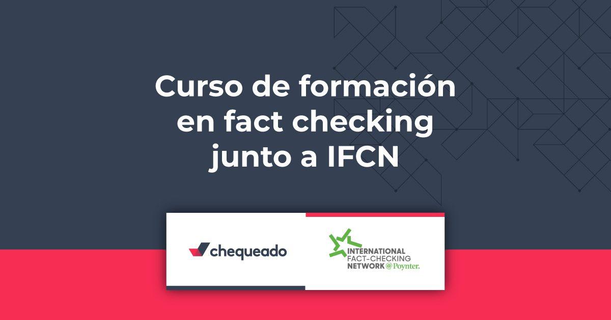 Programa de formación en fact-checking con IFCN