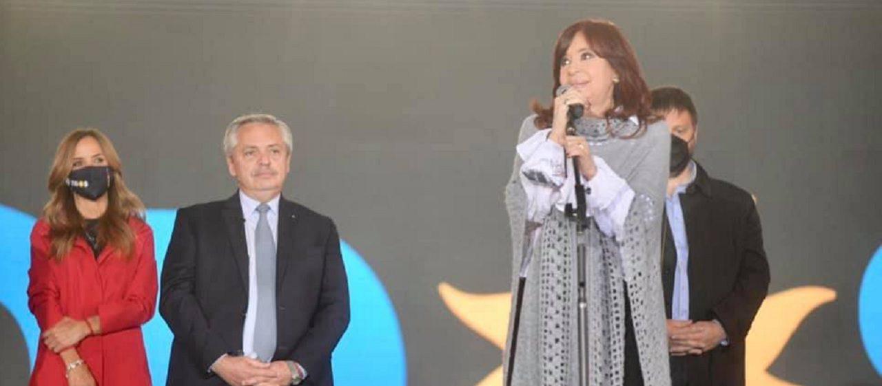 Chequeos a dichos de Cristina Fernández de Kirchner durante el cierre de campaña del Frente de Todos