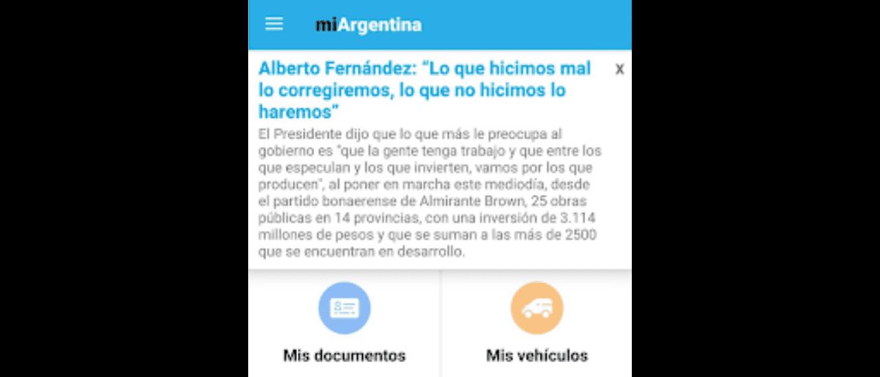 Publicidad electoral por la app Mi Argentina: por qué está mal que el Estado envíe discursos de Alberto Fernández