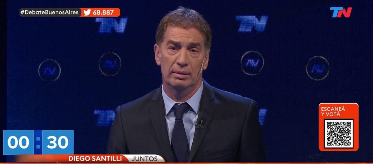 """Santilli: """"De 28 millones de argentinos con posibilidad de trabajar, menos de la mitad tienen trabajo"""""""